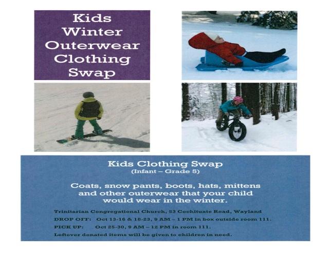 Kids Clothing swap